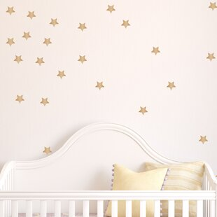 Gold Star Wall Decal (Set Of 50)