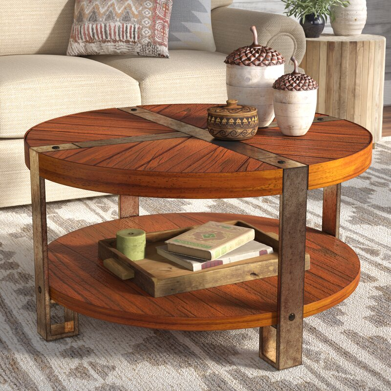 Marvelous Gallatin Round Coffee Table