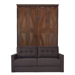 Kenilworth Queen Upholstered Murphy Bed by Gracie Oaks