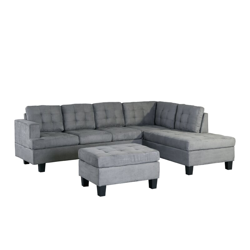 Latitude Run Versailles Right Hand Facing Sectional With