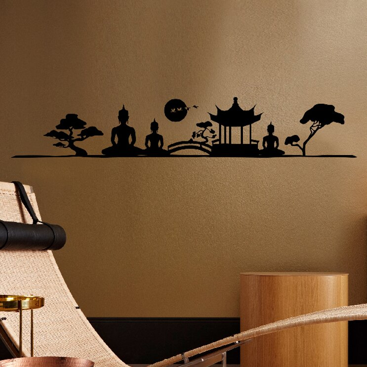 Brewster Home Fashions Euro Asian Imagery Wall Decal & Reviews ...