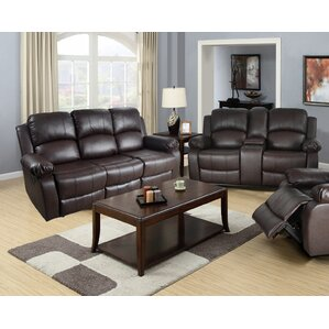 Mayday 2 Piece Leather Living Room Set by Red Barrel Studio