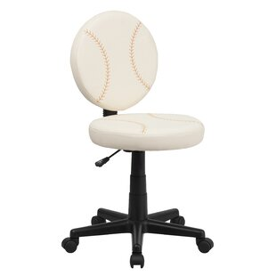 Lynda Baseball Mid Back Kids Desk Chair