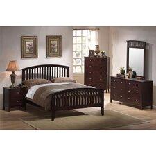 Saranda Slat 5 Piece Bedroom Set