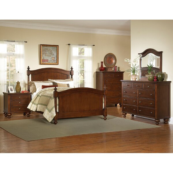 Darby Home Co Claire Bedroom King Panel 5 Piece Bedroom Set | Wayfair