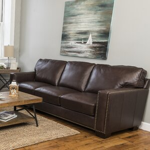leather sofas youll love
