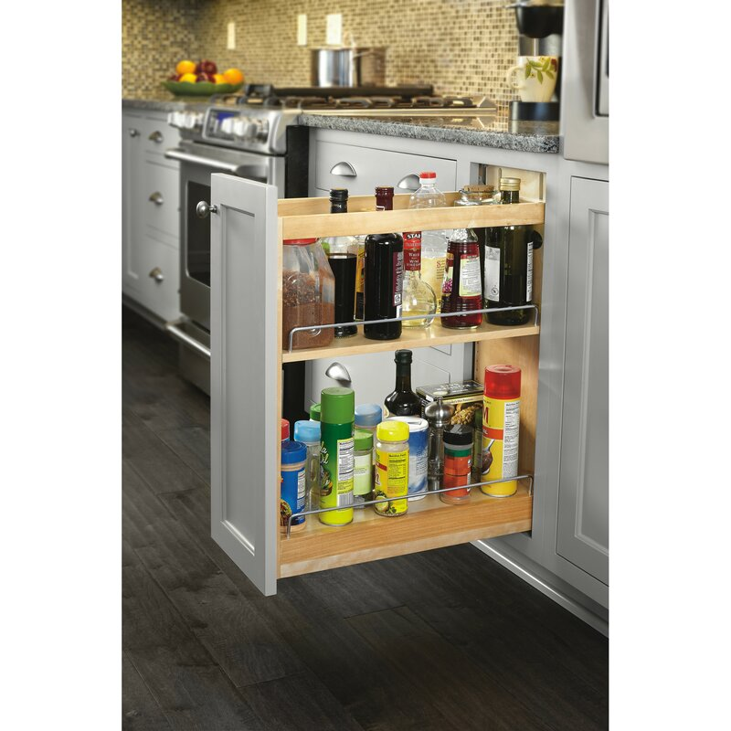 Soft Close Base Cabinet Organizer Pull Out Pantry