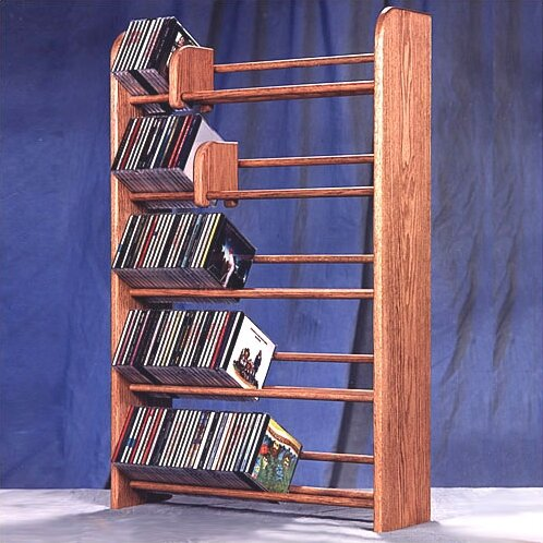 Wood Shed 500 Series 275 Cd Multimedia Storage Rack