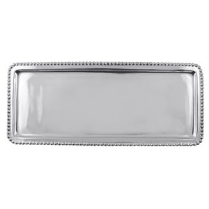Statements Beaded Rectangular Tray
