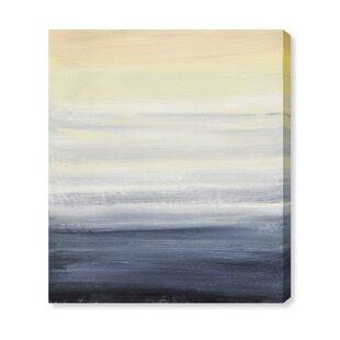 Sea Fog Vertical Wall Art On Canvas