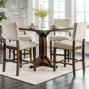 Ratley 5 Piece Counter Height Dining Set