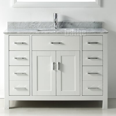 BelvedereBath Signature Series 48 Single Bathroom Vanity Set