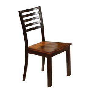 Holly Solid Wood Dining Chair (Set of 2) by Loon Peak