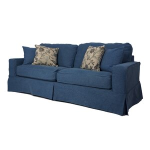 Oxalis Box Cushion Sofa Slipcover Set