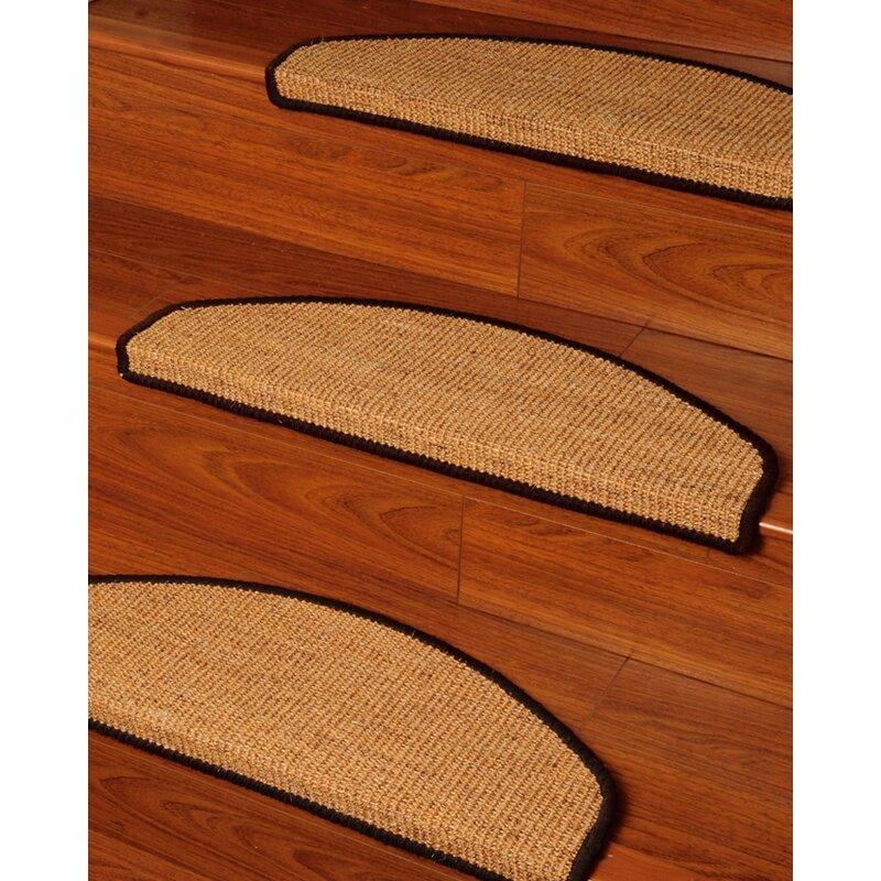 Domino Beige Euro Carpet Stair Tread