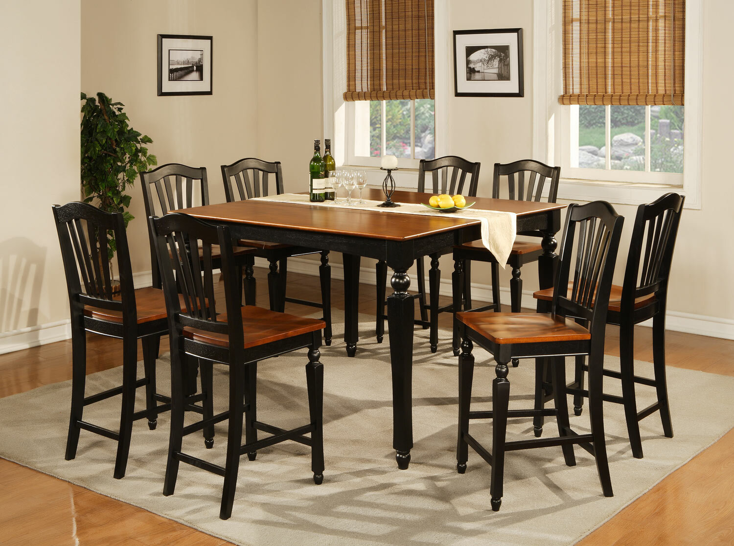 Delicieux Darby Home Co Ashworth 9 Piece Counter Height Pub Table Set