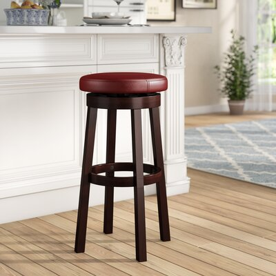 Backless Faux Leather Bar Stools You Ll Love In 2019 Wayfair