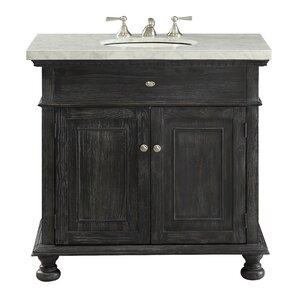 Black  Inch Vanities Youll Love Wayfair - 36 inch black bathroom vanity