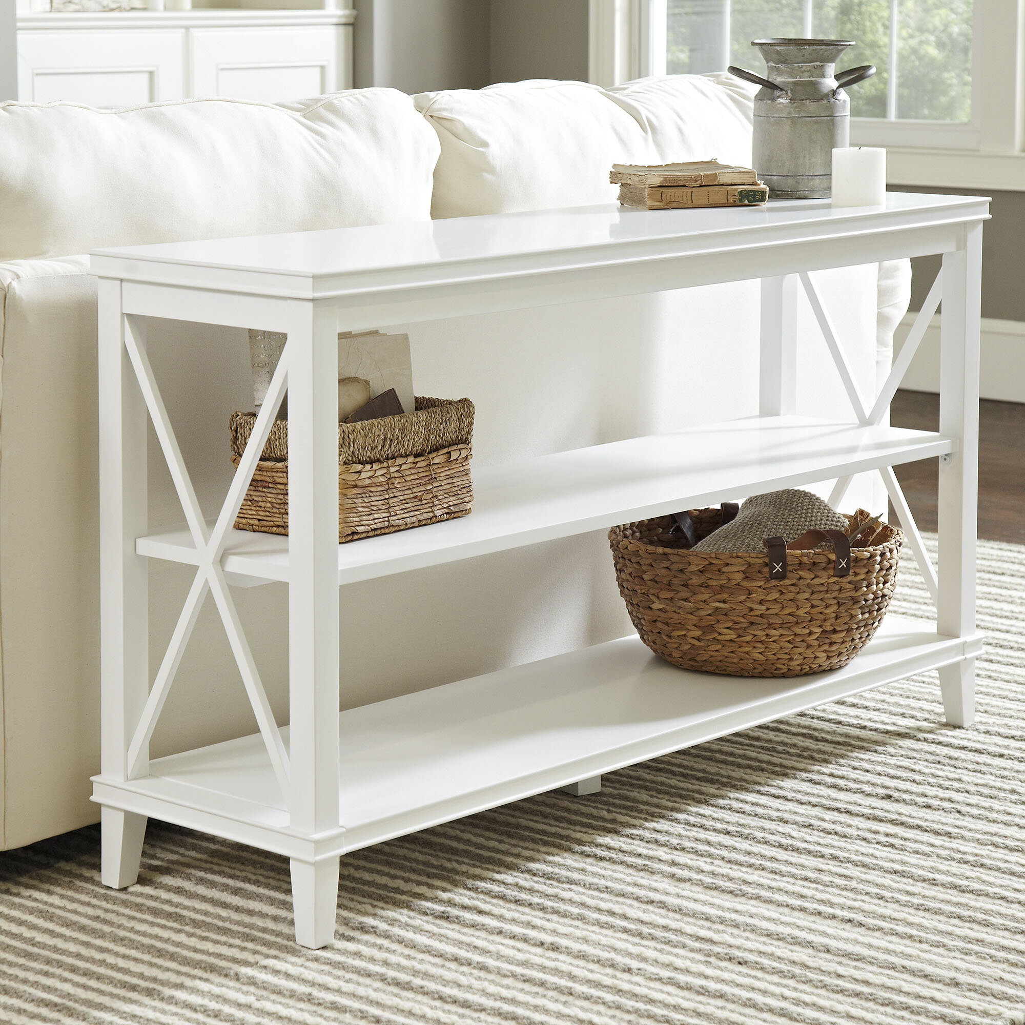 super popular cb7fc b1fe8 Three Posts Meansville Console Table