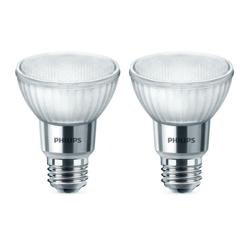 LedDimmable 7 Philips Watt50 Bulb Light EquivalentPar20 HYEe9IWD2