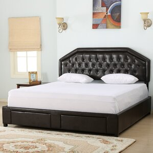 Beaumont Upholstered Storage Panel Bed by Darby Home Co