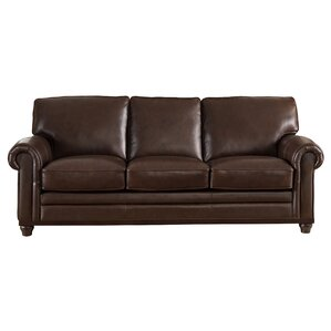 Coventry Top Grain Leather Sofa by Westland ..