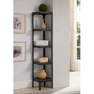 5 Tier Corner Unit Bookcase