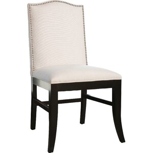 Liston Side Chair in Ivory Linen by Darby Home Co