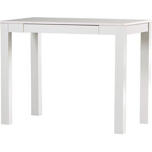 modern contemporary white parsons desk allmodern