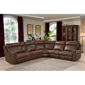AC Pacific Clark Reclining Sectional Image
