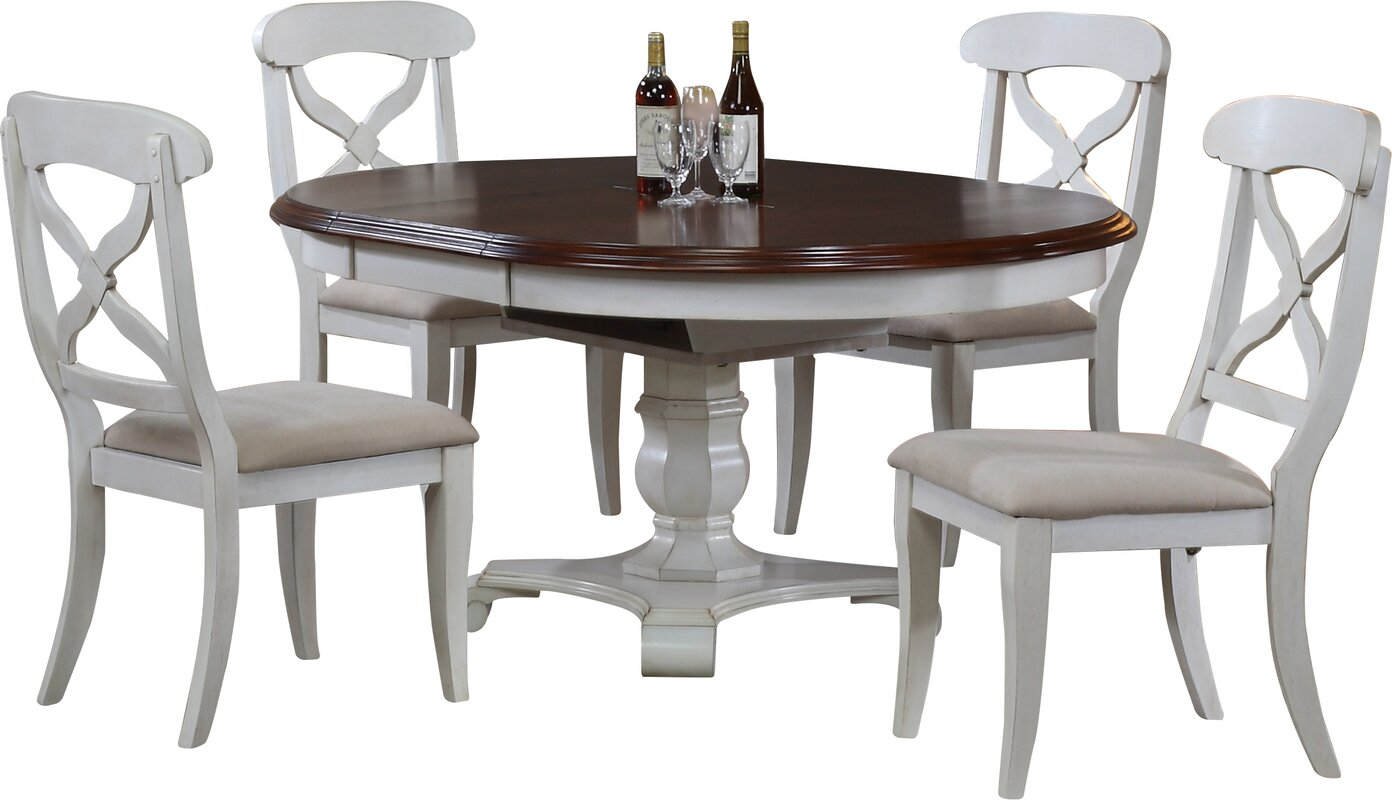 Lockwood Erfly Leaf 5 Piece Dining Set
