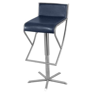 Brett Adjustable Height Bar Stool by New Pacific Direct