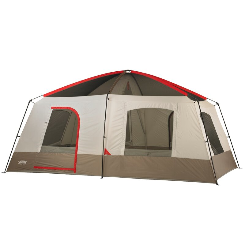 Timber Ridge 10 Person Tent  sc 1 st  Wayfair & Wenzel Timber Ridge 10 Person Tent u0026 Reviews | Wayfair
