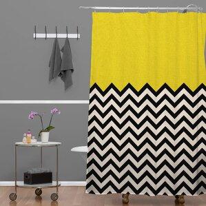 Bianca Green Shower Curtain