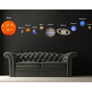 Beau Solar Planets Fabric Wall Decal