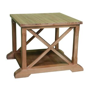 Chatmon Wooden Coffee Table wi..