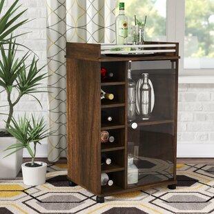 Horowitz Glass Door Bar Cart