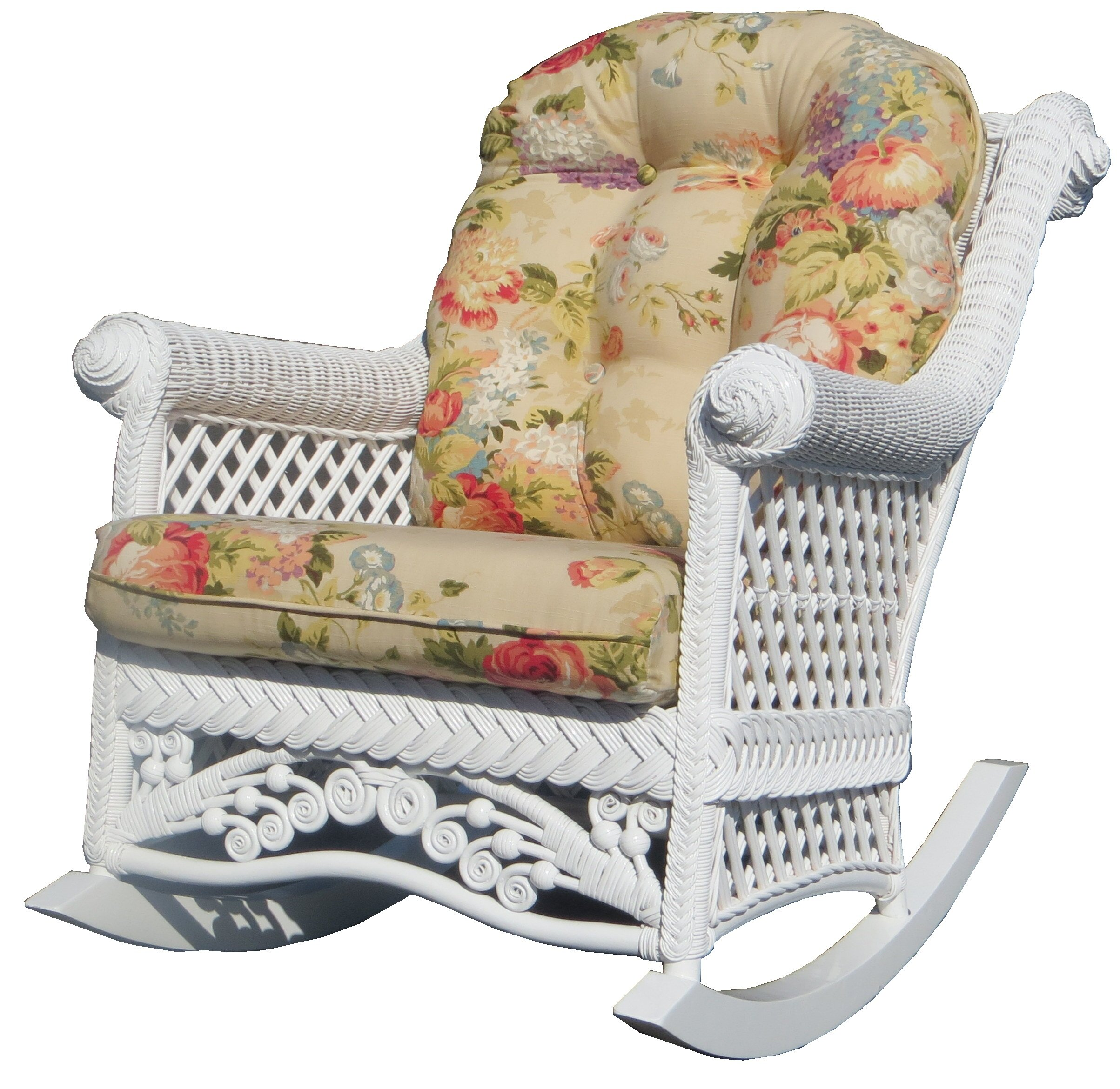 Charmant August Grove Mathys Traditional Rocking Chair | Wayfair