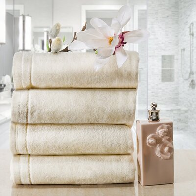 100% Cotton Hand Towel Creative Scents Color: Cream
