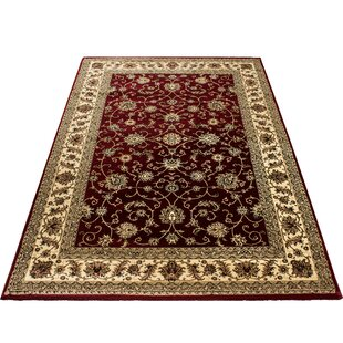 Hogarth Red Rug by Astoria Grand
