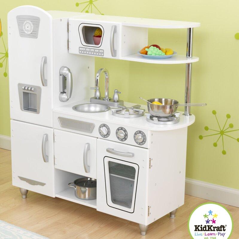 Kidkraft Kitchen Accessories kidkraft vintage kitchen & reviews | wayfair