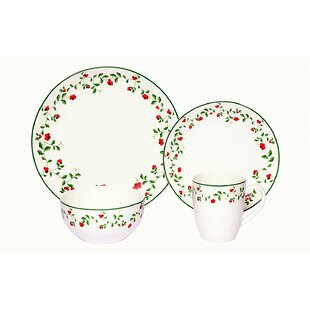 Winterberry 32 Piece Dinnerware Set Service for 8 (Set of 8)  sc 1 st  Wayfair & Dinnerware Set for 8 You\u0027ll Love | Wayfair