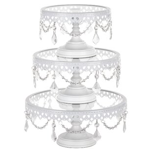 White Cake Tiered Stands You Ll Love Wayfair