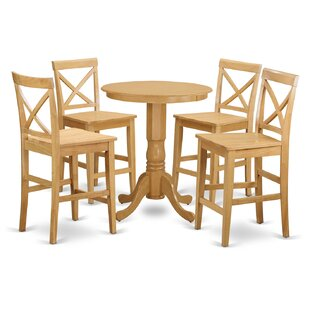 Eden 5 Piece Counter Height Pub Table Set Herry Up