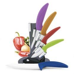 Modern Kitchen Knife Set cooking essentials modern block 6 piece knife set & reviews | wayfair