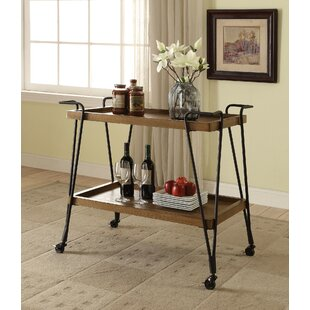 Trotter Serving Bar Cart