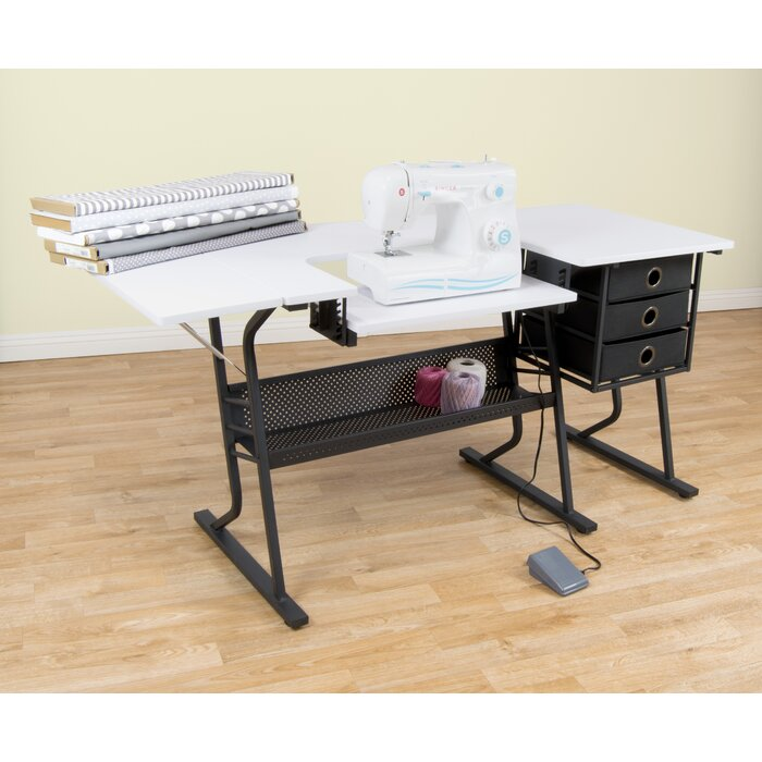 large fashion table sewing cabinets products portable preview america of desk model