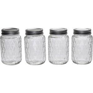 Treasure 4 Canning Jar set (Set of 4)
