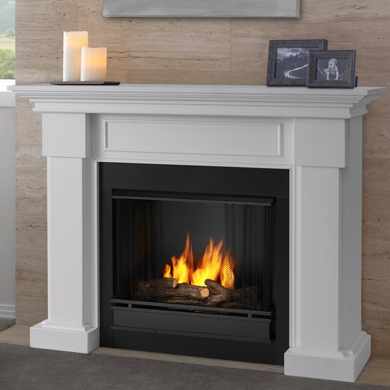 Real Flame Hillcrest Gel Fuel Fireplace Reviews Wayfair - Ashley gel fireplace fuel