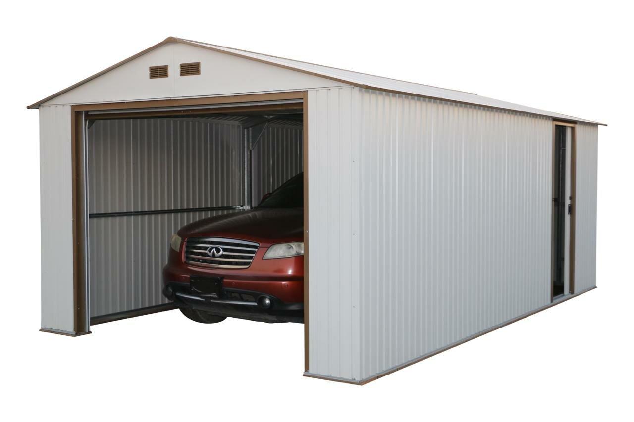 Duramax Imperial 12 Ft. W X 20 Ft. D Metal Garage Shed U0026 Reviews | Wayfair